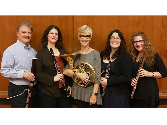 The Cornell Wind Quintet performs Tuesday at Cornell's