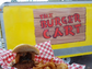 The Burger Cart, behind Barrel & Keg on Broadway, specializes