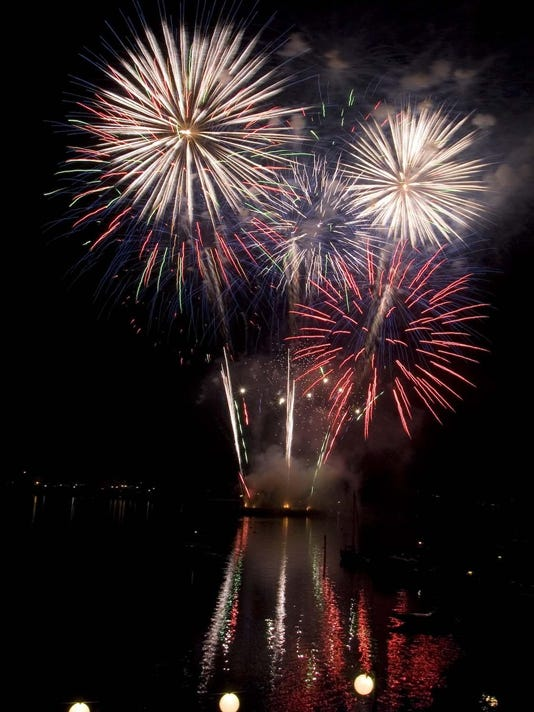 Water Fireworks