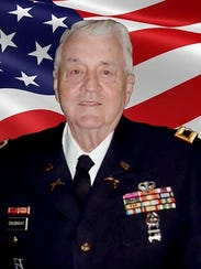 Col. Walt Shumway, U.S. Army retired