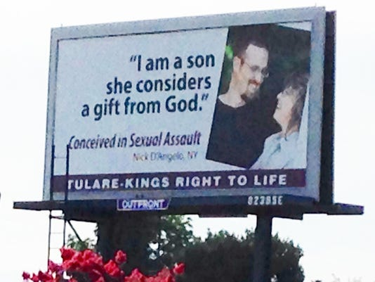 Borges-Right to Life billboard