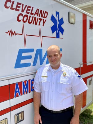 New EMS Director Tommy NcNeilly.