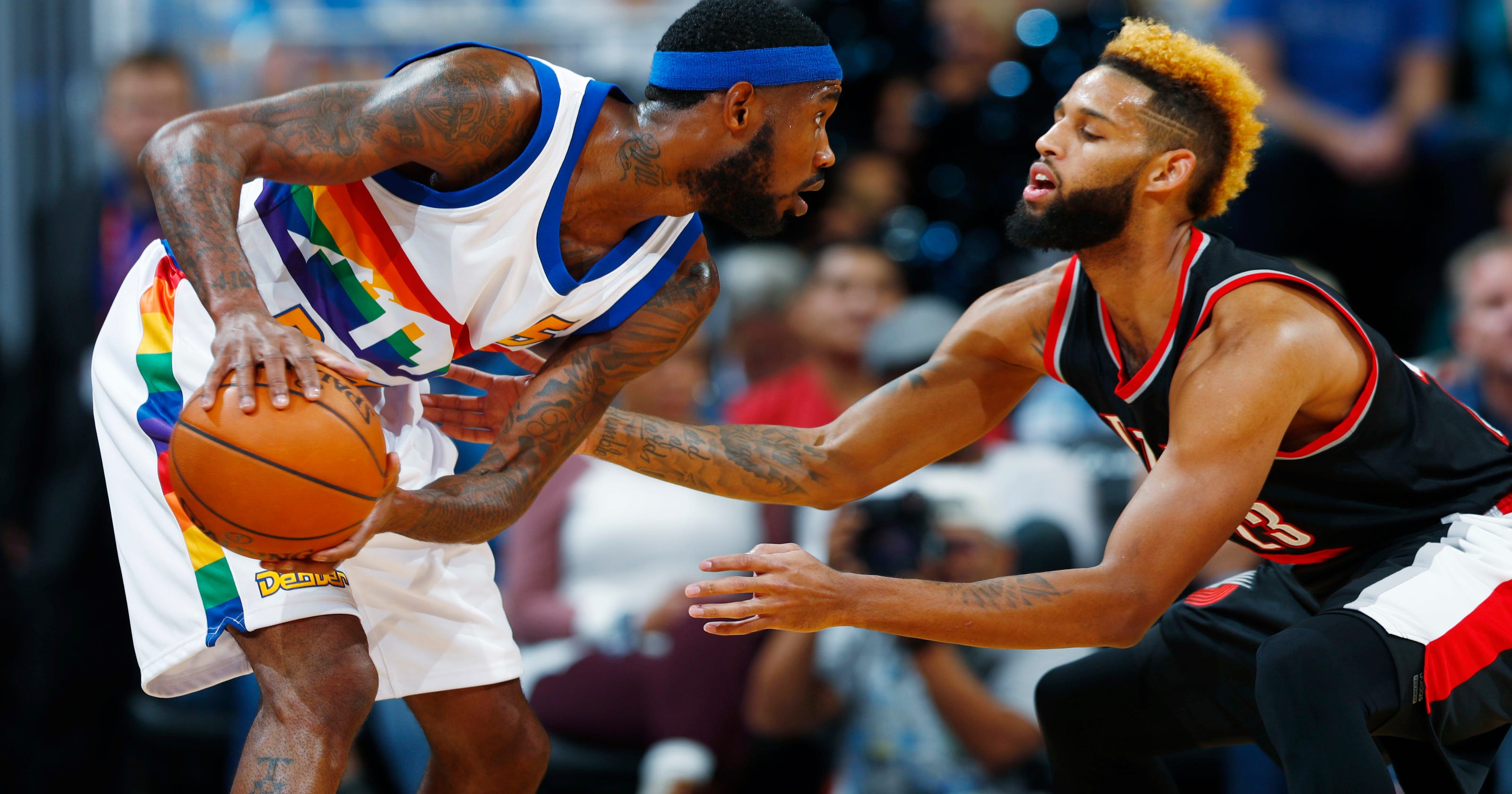 Power surge delays Trail Blazers-Nuggets game