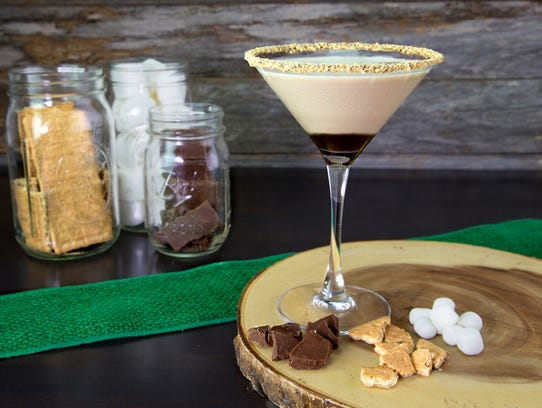 The S'mores Martini at Duffy's Sports Grill in Fort