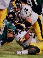 Former FB Jon Witman played for the Steelers from 1996 to 2001.