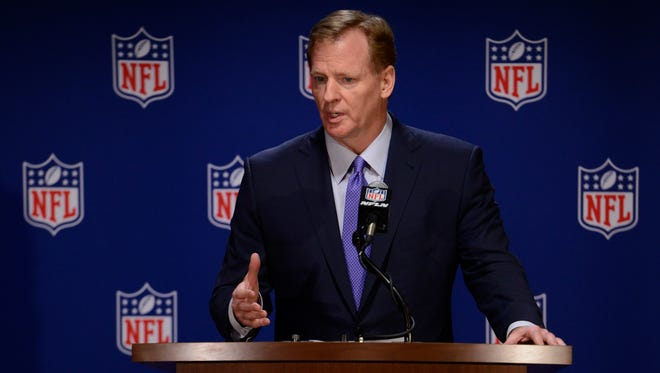 A nonprofit whose charity event was forced to relocate by the NFL recently asked a judge to demand league commissioner Roger Goodell explain the league's gambling policy.