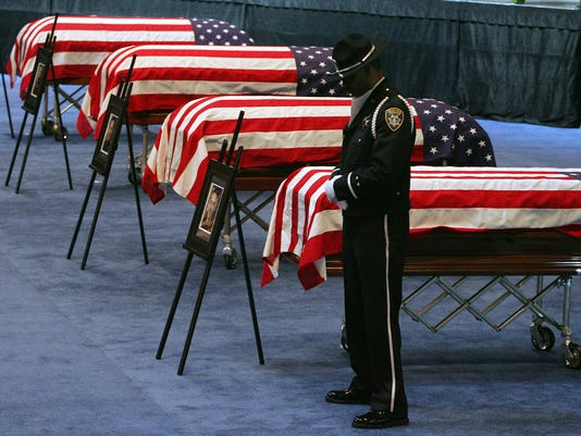 AP POLICE GUN DEATHS A FILE USA CA