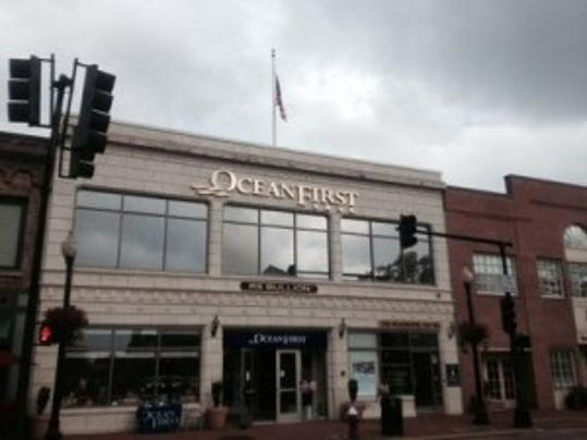 APP file photo of OceanFirst's new branch in Red Bank.