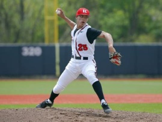 Rutgers baseball's Gaby Rosa had a surprisingly dominant freshman season on the mound, especially considering he was recruited primarily to play second base. (Jim O'Conner/Courtesy of Rutgers athletics)
