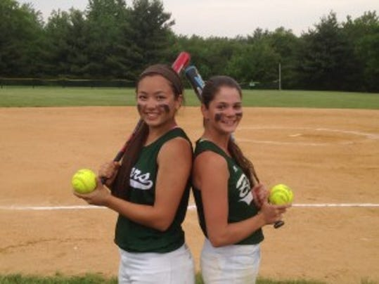 East Brunswick's Samantha Smalley and Meagan Costello both reached milestones in the Bears' 7-4 win over Monroe on Tuesday