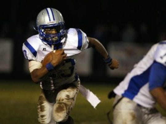 Sayreville two-way standout Myles Hartsfield reportedly committed to Penn State on Sunday morning while on campus. He had narrowed his choices to Rutgers and Penn State. (MyCentralJersey.com file photo)