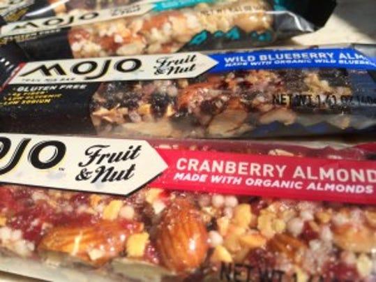 Clif MOJO Fruit & Nut trail mix bars