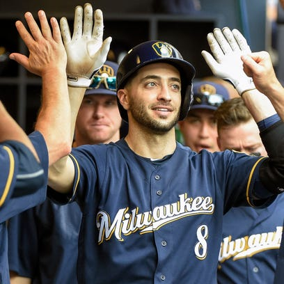 Counsell still expects Braun to be in left field