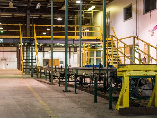 The warehousing area of the soon-to-be-renovated Lintech