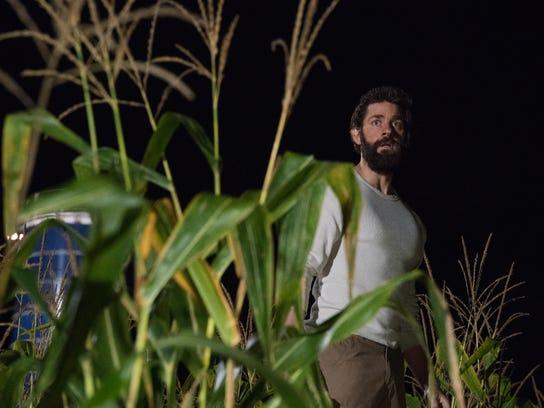 "John Krasinski plays Lee Abbott in ""A Quiet Place."""