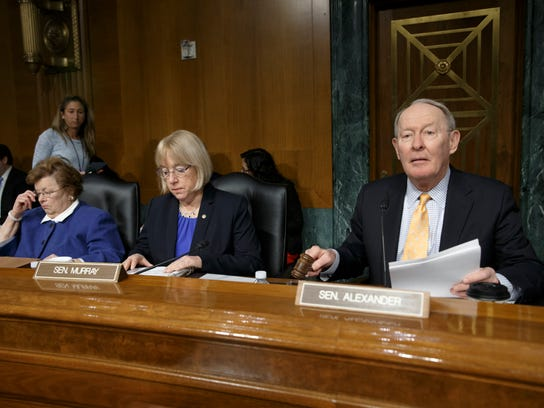 Sens. Lamar Alexander, R-Tenn., and Patty Murray, D-Wash., have drafted bipartisan legislation to deal with the nation's growing opioids epidemic.