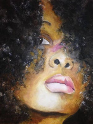 """Erykah"" by Christine Miles."