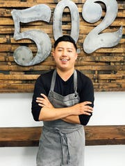 Ming Pu, chef at 502 Bar & Bistro