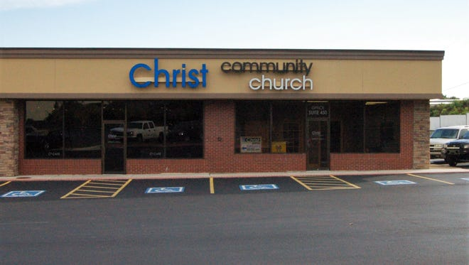 """Mountain Home's Christ Community Church, located in the Twin Lakes Plaza, will be the site of Sunday's 'Prayer Over Our Community"""" event."""