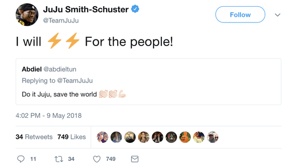 JuJu Smith-Schuster posted an Avengers: Infinity War-themed Steelers hype video