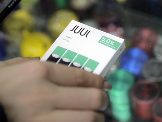 The e-cigarette maker Juul Labs will only sell menthol and tobacco flavors.