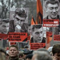 Mourners pay tribute to Boris Nemtsov