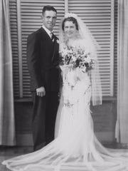 Raymond and Ruth Krueger married Aug. 3, 1939.