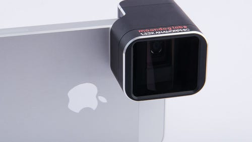 A lens adapter created by Fairport-based Moondog Labs