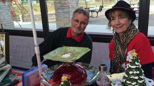Last year, Patricia and Dennis Ducher of Westland sold seasonal craft items at the Winter Market.