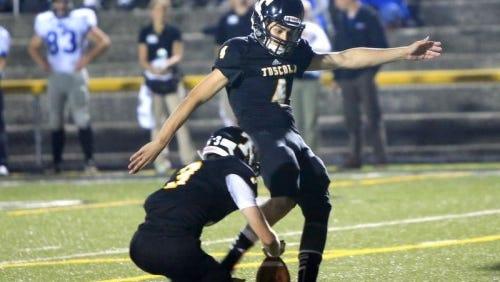 Tuscola kicker Logan Lambert has accepted a preferred walk-on spot with the Western Carolina University football team.