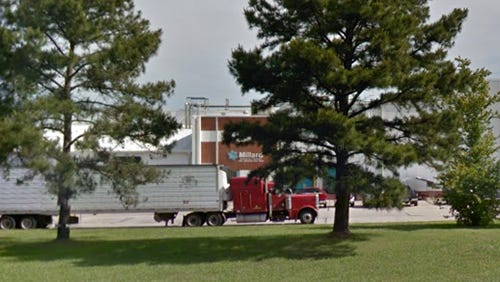 An ammonia leak at a Richland, Miss. plant causes all the employees to be evacuated Monday.