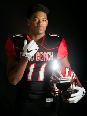 Michael Smith of Vero Beach High School, all-area offensive