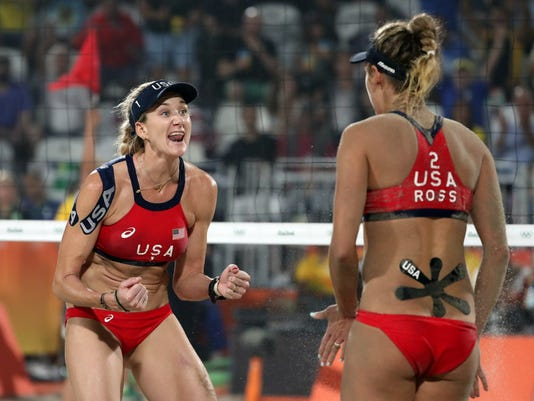 USP OLYMPICS: BEACH VOLLEYBALL S OLY BRA