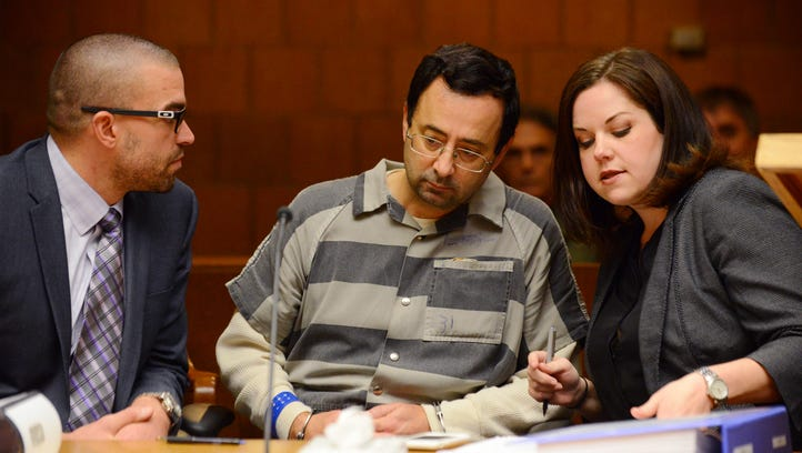 Larry Nassar's defense attorneys, Matt Newburg and Shannon Smith, have asked an Eaton County judge to remove herself from hearing one of the criminal cases against their client.
