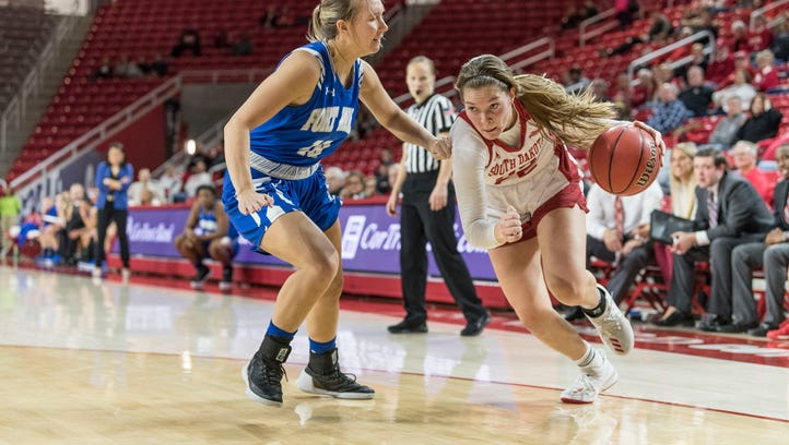 South Dakota Coyote women pummel Fort Wayne Mastodons