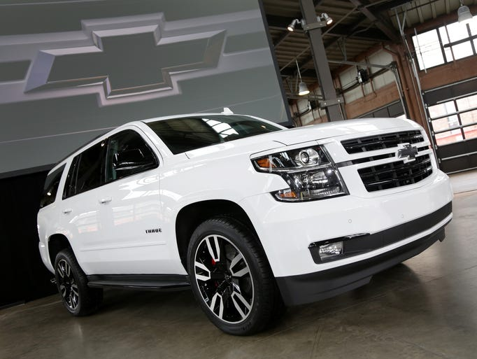 Photos: 2018 Chevrolet Tahoe RST