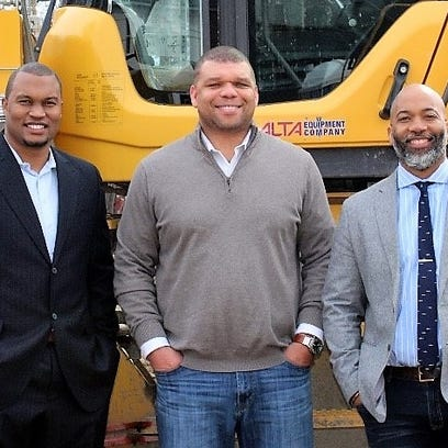 From left, Ron rice, Dewayne White and ...