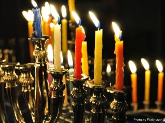 Hanukkah events will be held throughout the Hudson
