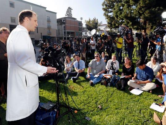 AP HOSPITAL SUPERBUG OUTBREAK A USA CA