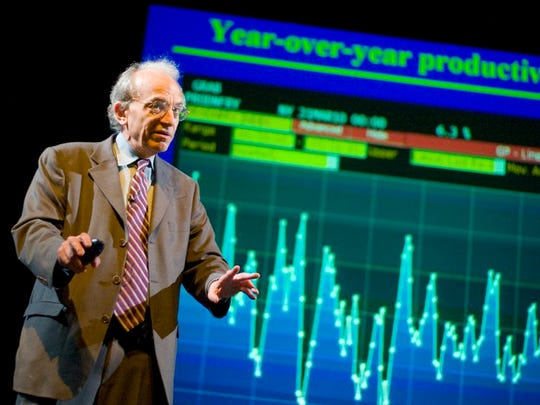 "An undated photo of Jeremy Siegel, professor of finance at the University of Pennsylvania Wharton School and author of ""Stocks for the Long Run."""