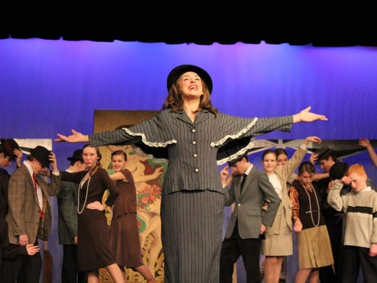 "Mansfield Youth Theatre production of ""Thoroughly Modern Millie."""