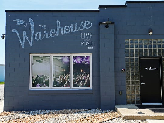 The Warehouse music venue in Carmel, Ind., Friday, June 10, 2016.