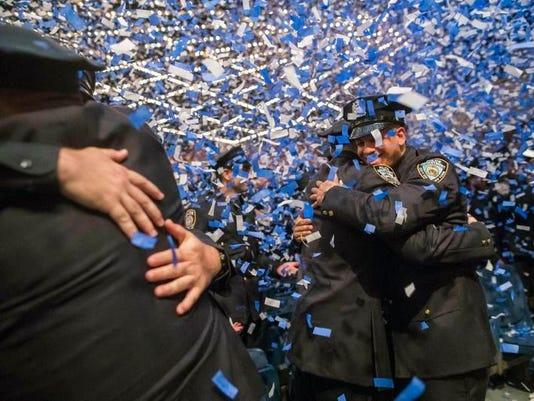 NYPD graduation 2017