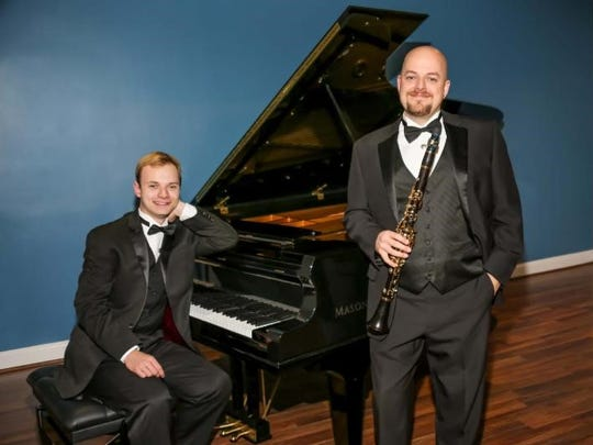 Pianist Christopher Tavernier and clarinetist Matthew