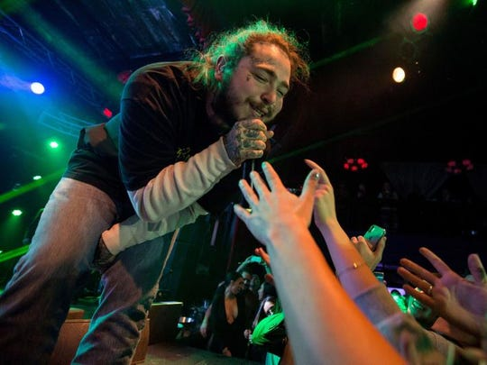Post Malone will perform at Rawhide on June 19, 2018.