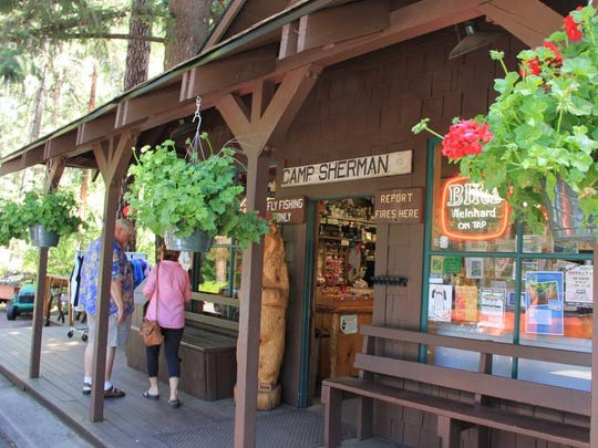 Camp Sherman Store on the Metolius River.