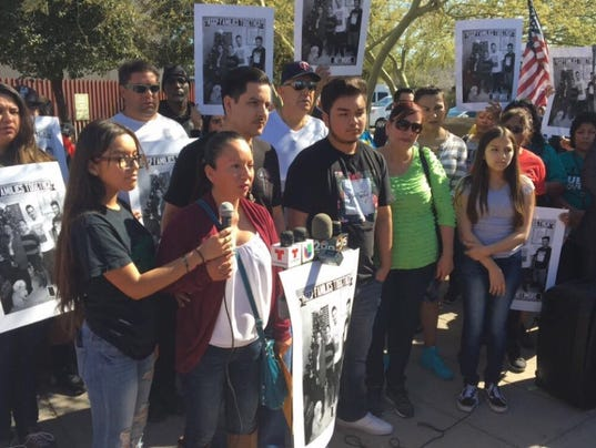 Rally for mother facing deportation