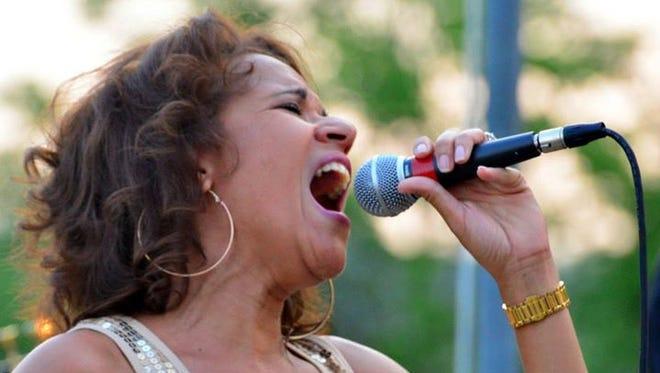 Ramona Blaine, lead singer of The Company.