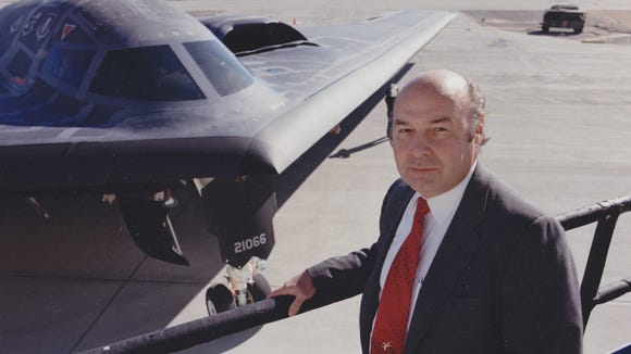 Denys Overholser, who grew up in Dallas, Oregon, has worked on the Northrop B-2 Spirit, also known as the Stealth Bomber. He is a consultant for some of the largest aerospace companies in the country.