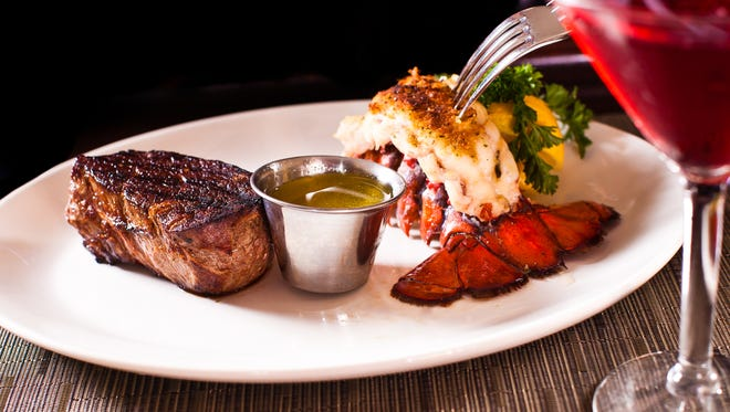 Those celebrating birthdays each month can come in and receive a free bacon-wrapped filet and lobster tail dinner on any Wednesday during the month that they were born.
